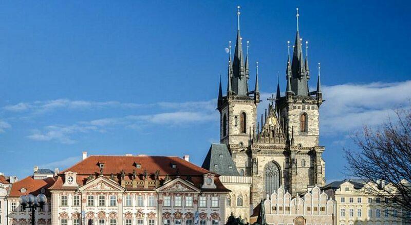 Тынский костел Прага