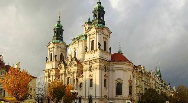 Церковь Святого Николая Прага