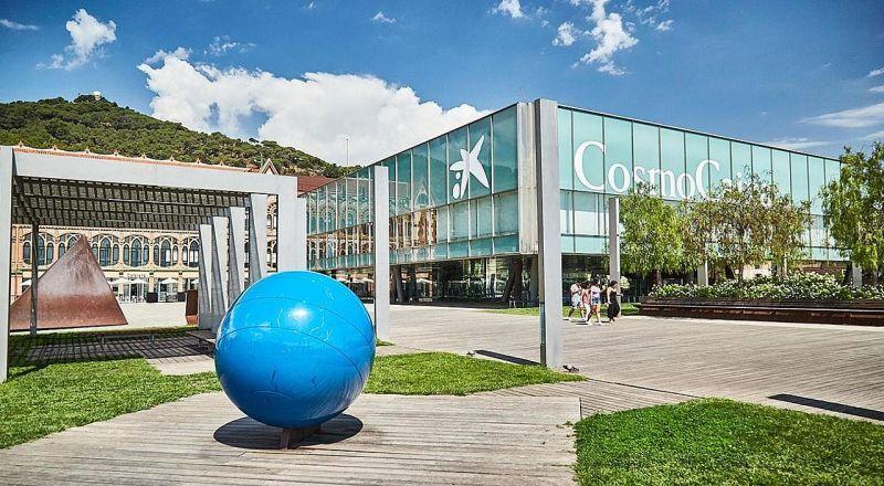 Музей науки CosmoCaixa Барселона