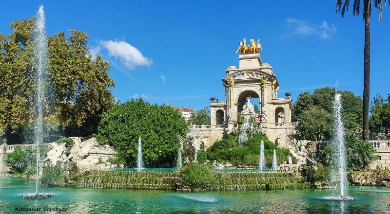 Парк Сьютаделья Барселона