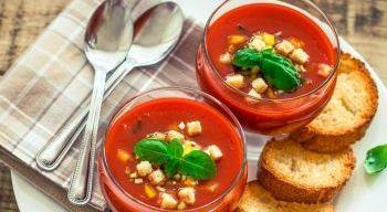 Томатный суп гаспаччо