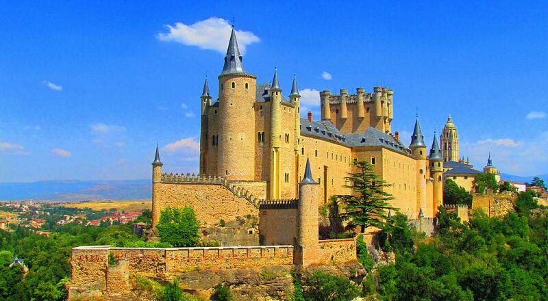 Замок Алькасар Сеговия Испания
