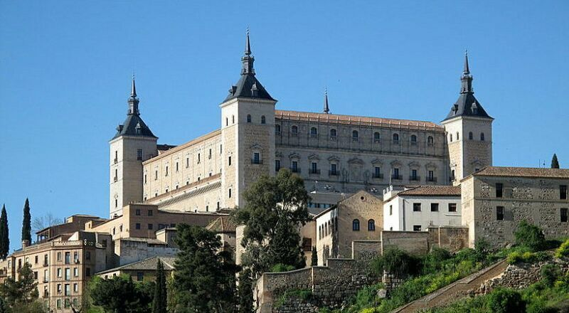 Замок Алькасар Толедо Испания