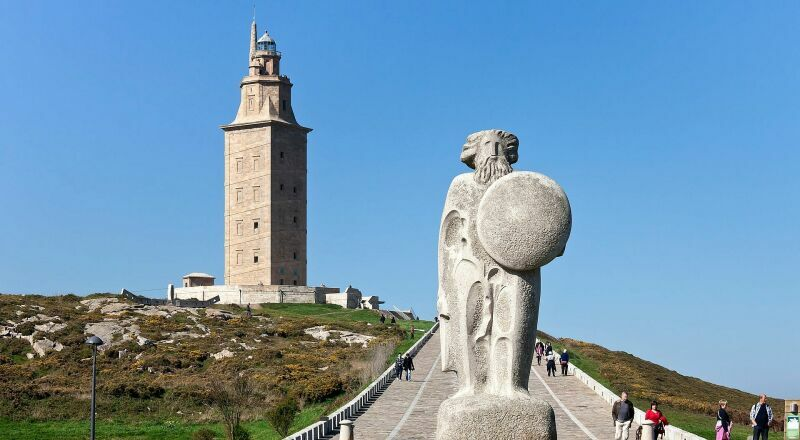 Башня Геркулеса Ла-Корунья Испания