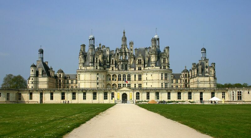 Замок Шато-де-Шамбор