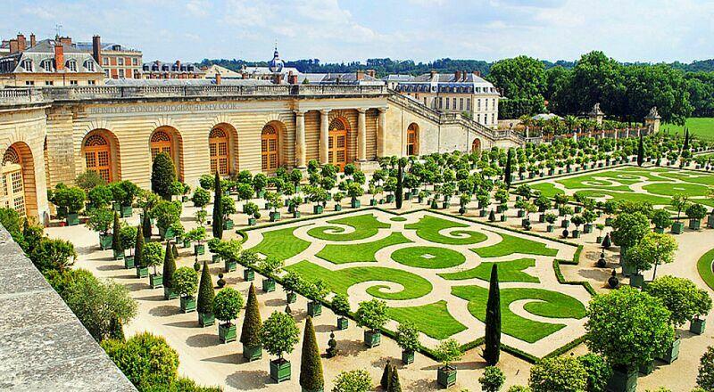 Версальский дворец и сад