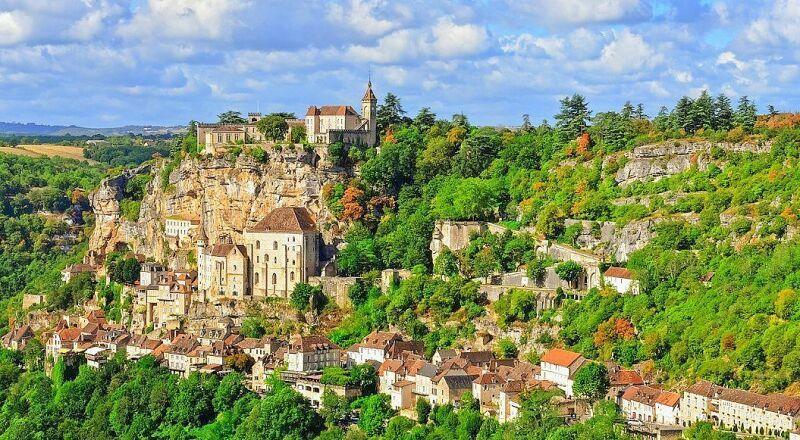 Рокамадур Франция