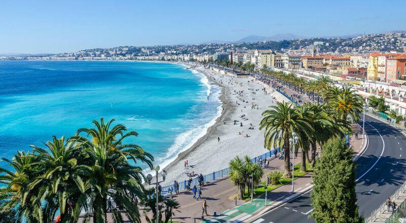 Лазурный берег Франция