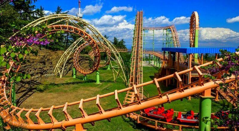 Парк развлечений Мтацминда