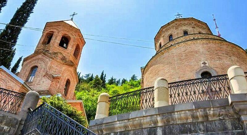 Пантеон некрополь Тбилиси
