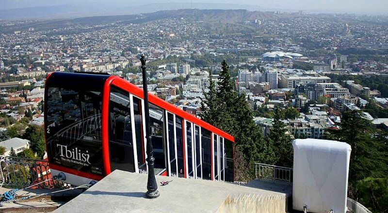 Фуникулер Тбилиси