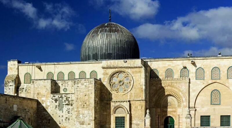 Мечеть Аль-Каса на Храмовой горе