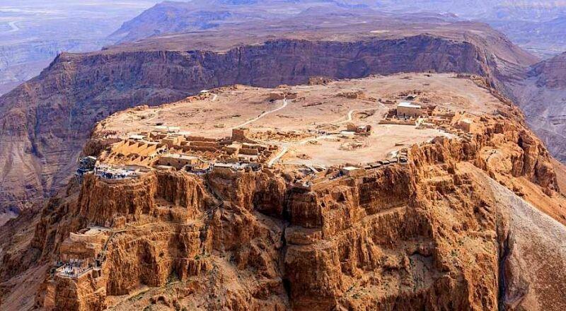 Крепость Масада Израиль
