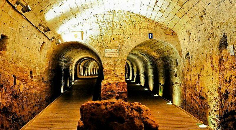 Туннель Тамплиеров Акко