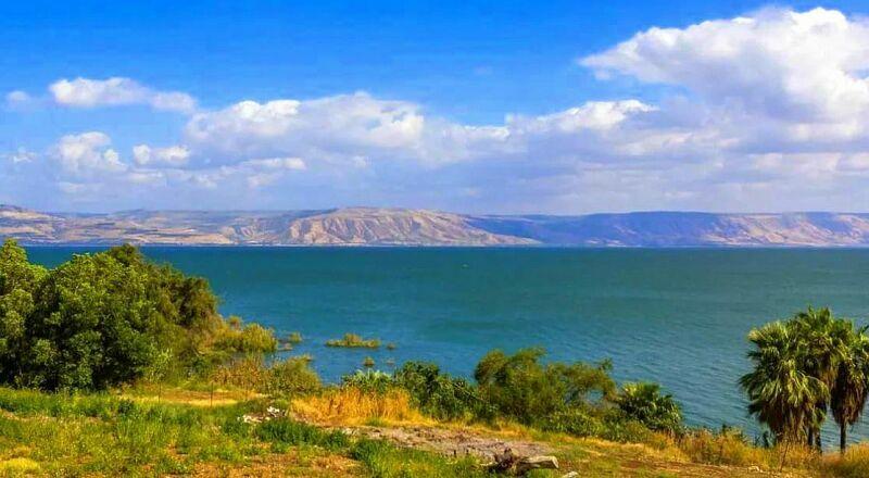 Галилейское море Израиль