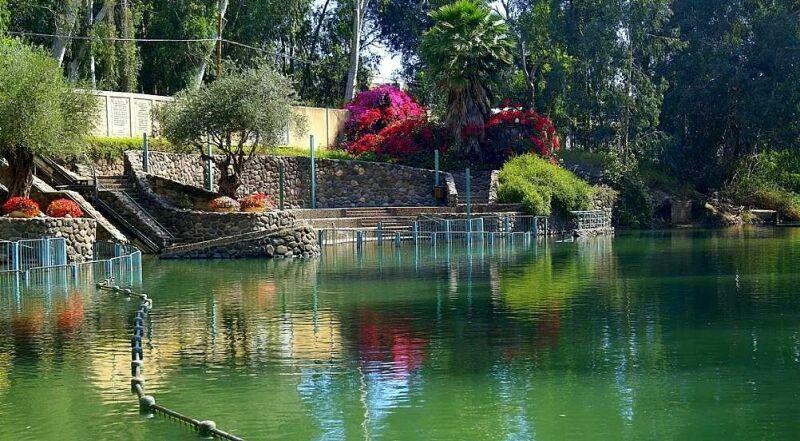 Река Иордан Израиль