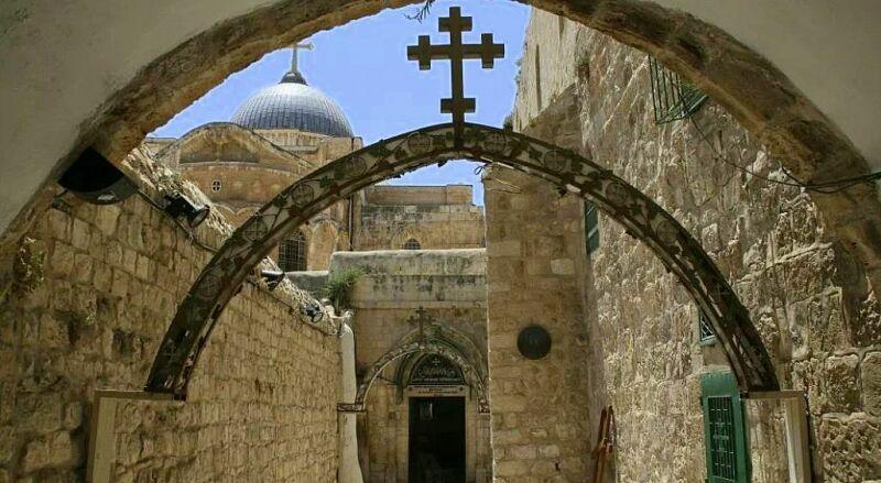 Дорога скорби Иерусалим