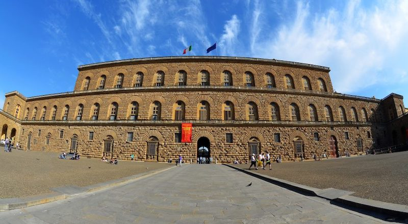 Дворец Палацоо Питти Флоренция