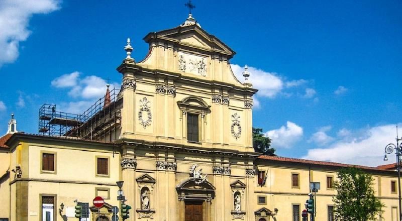 Церковь Сан-Марко Флоренция