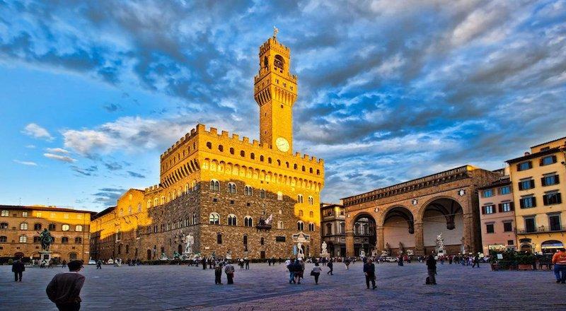 Дворец Палаццо Веккьо Флоренция