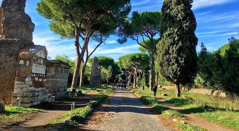 Апиева дорога Рим