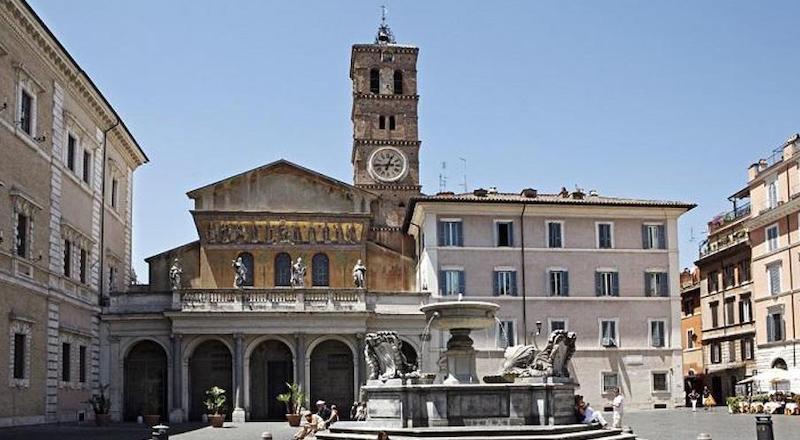Церковь Санта-Мария-ин-Трастевере Рим