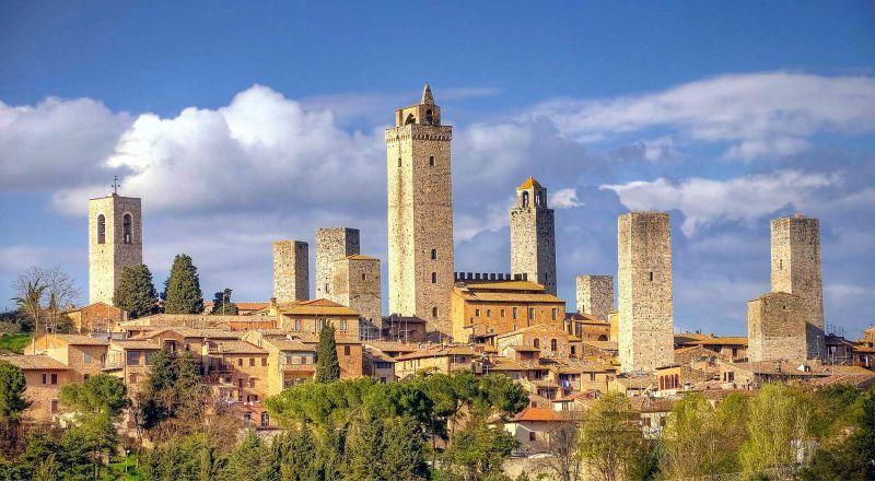 Сан-Джимиьяно Тоскана Италия