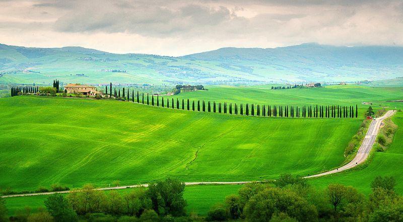 Долина Валь Д'Орча Тоскана