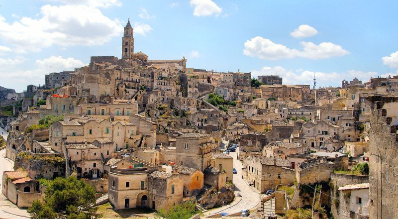 Пещерный город Сасси-ди-Матера Италия
