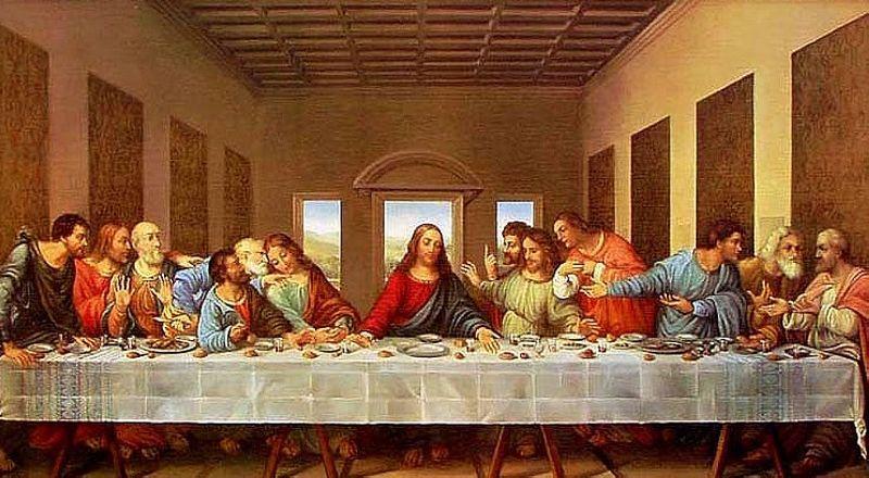 Тайная вечеря Милан