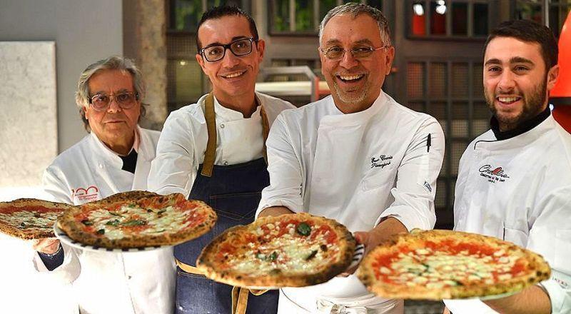 Пицца фестваль Неаполь