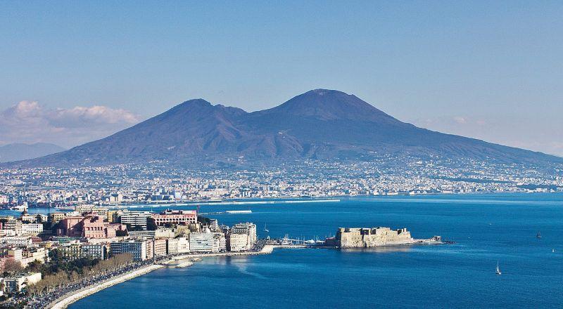 Вулкан Везувий Неаполь