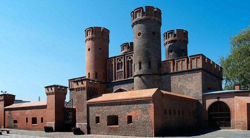 Ворота замка Фридрихсбург