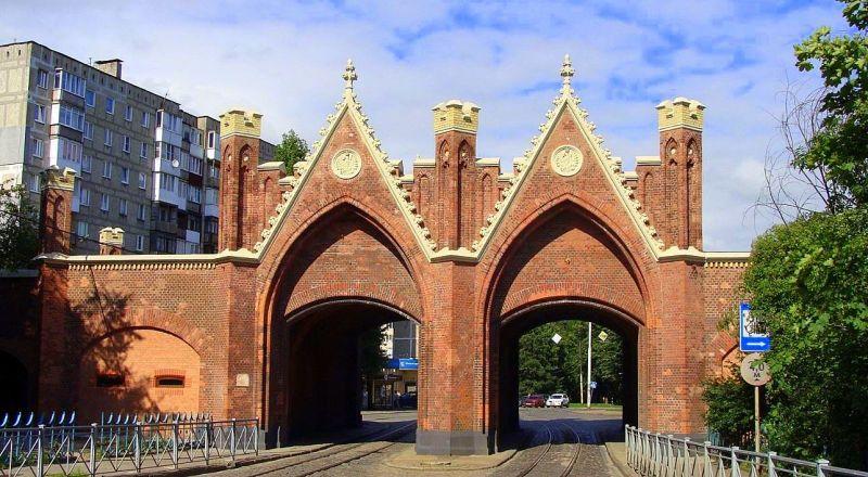 Бранденбургские ворота Калининград