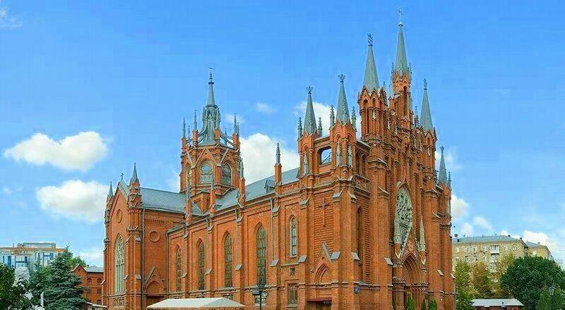Собор непорочного зачатия девы Марии Москва