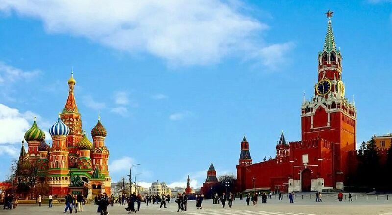 Красная площадь Москва Россия