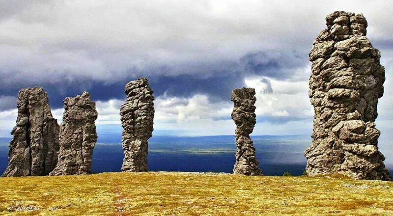 Плато Мань-Пупу-нер Урал Россия