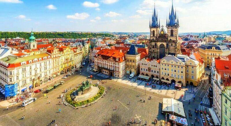 Староместкая площадь Прага