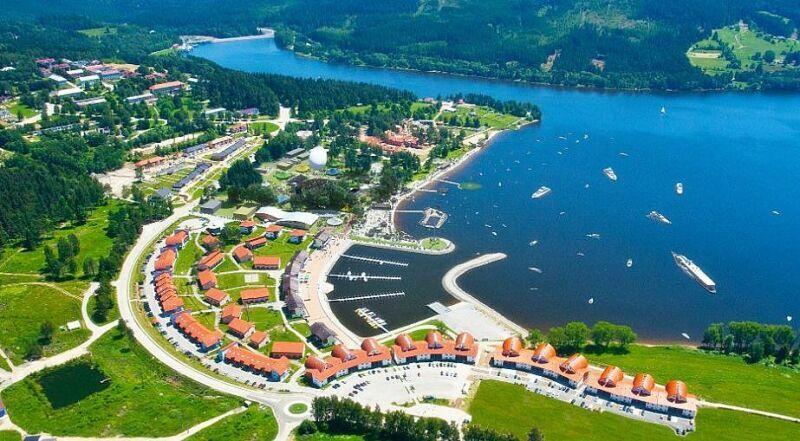 Озеро Липно Чехия