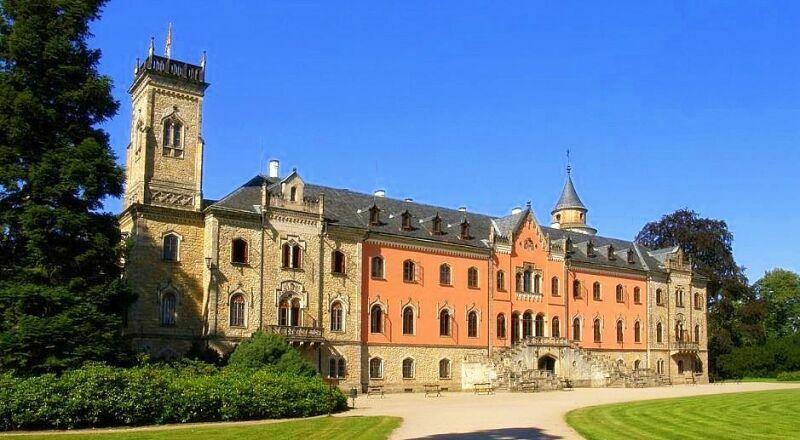 Замок Сихров Чехия