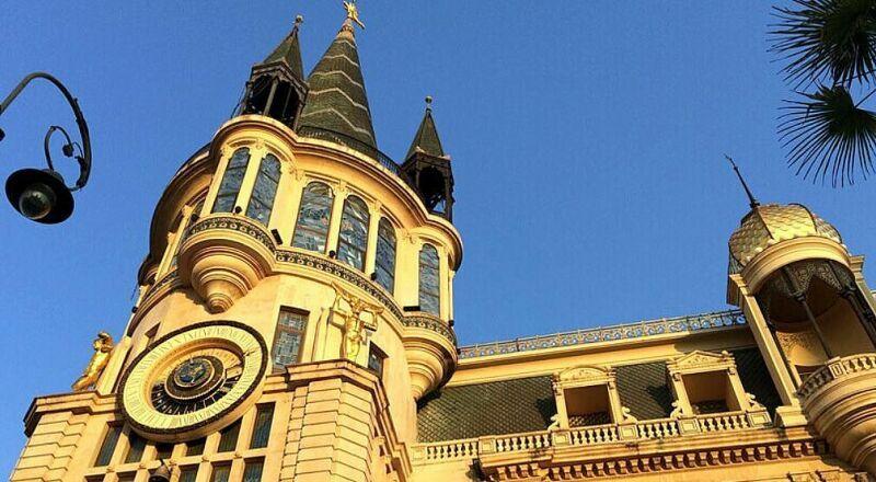 Астрономические часы Батуми Грузия