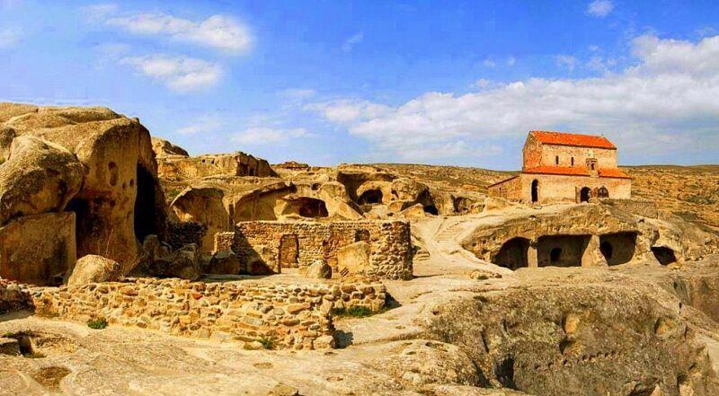 Пещерный город Уплисцихе Грузия