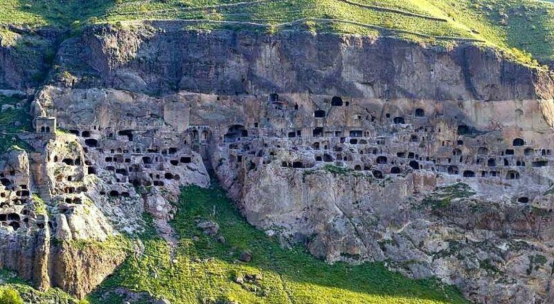 Пещерный город Вардзия Грузия