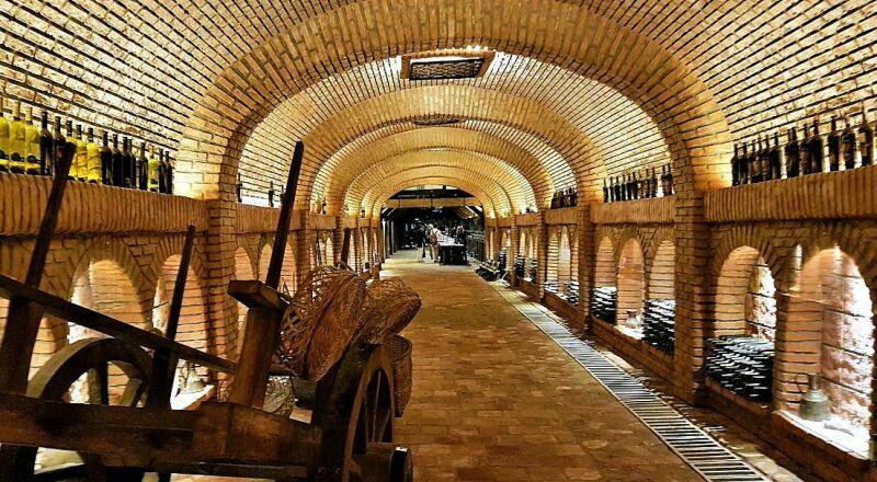 Винный тоннель Кахетия