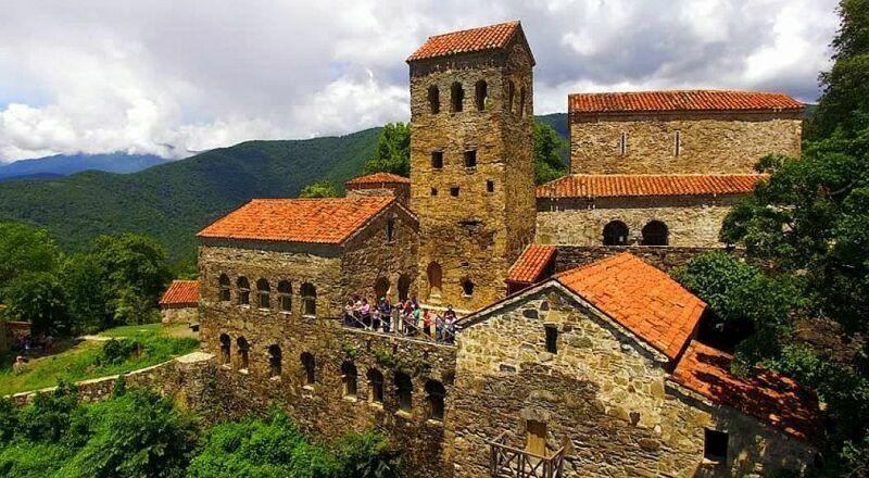 Монастырь Некреси Кахетия Грузия