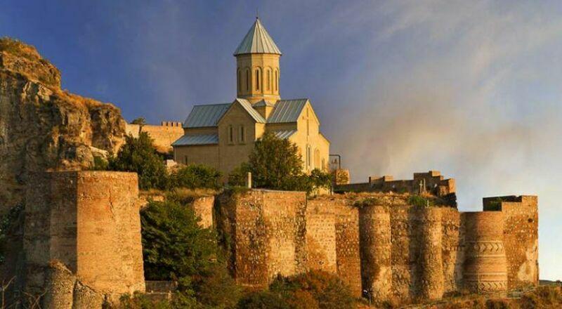 Крепость Нарикала Тбилиси Грузия