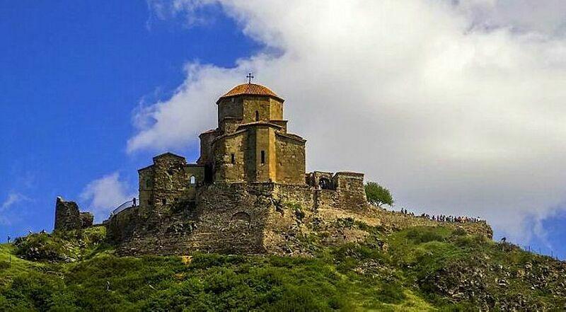 Монастырь Джвари Мцхета Грузия