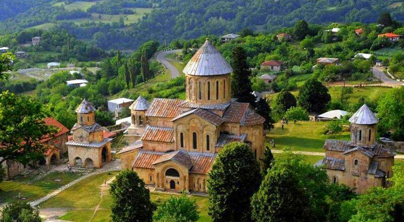 Гелатский монастырь Грузия