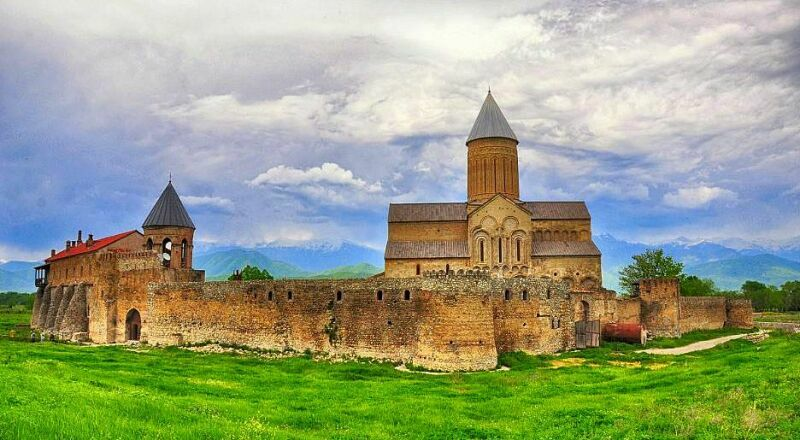 Монастырь Алаверди Кахетия Грузия