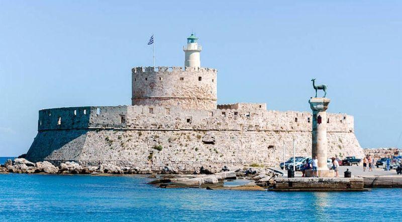 Форт Святого Николая Родос